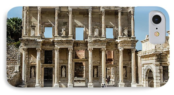 Celsus Library IPhone Case by Kathy McClure