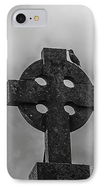 Celtic Cross #2 - Scotland IPhone Case by Amy Fearn