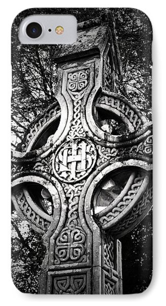Celtic Cross Detail Killarney Ireland Phone Case by Teresa Mucha