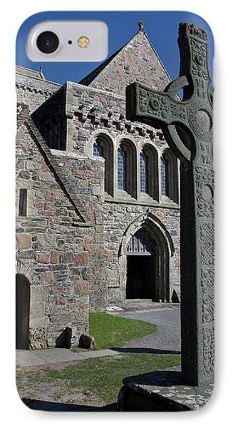 Celtic Cross, Iona, Scotland IPhone Case