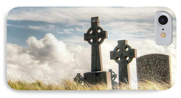 Celtic Grave Markers IPhone Case by Natasha Bishop