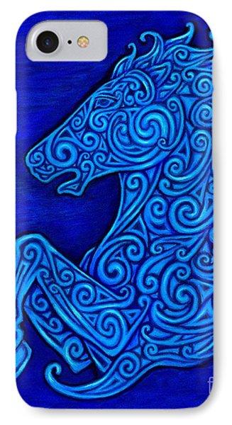 Celtic Horse Phone Case by Rebecca Wang