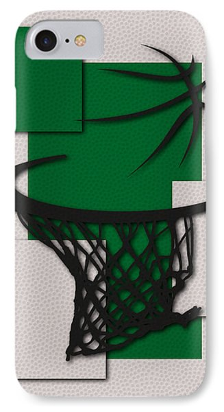 Celtics Hoop IPhone Case