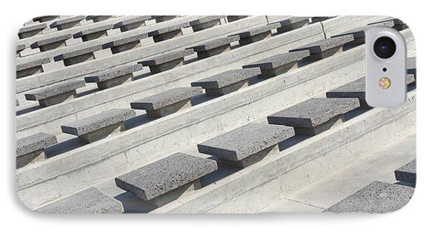 Cement Seats Phone Case by Gaspar Avila