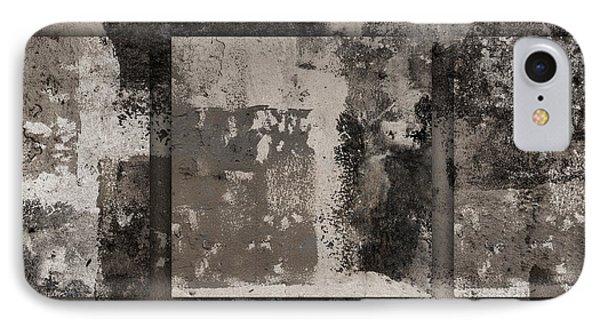 Cement Squares Number Three IPhone Case