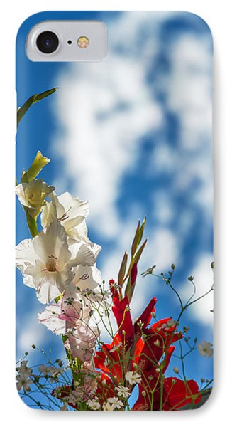 Cemetery Flowers IPhone Case by Jess Kraft