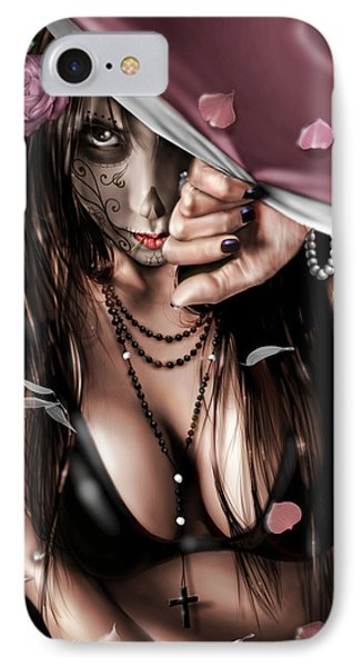 Cemetery  Gates Phone Case by Pete Tapang