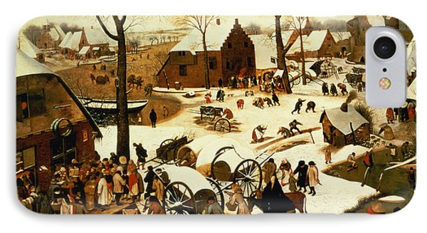 Census At Bethlehem IPhone Case by Pieter the Elder Bruegel