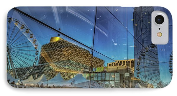 Centenary Square Reflections IPhone Case by Chris Fletcher