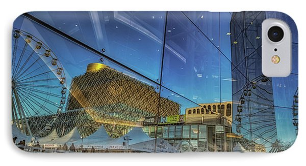 Centenary Square Reflections IPhone Case
