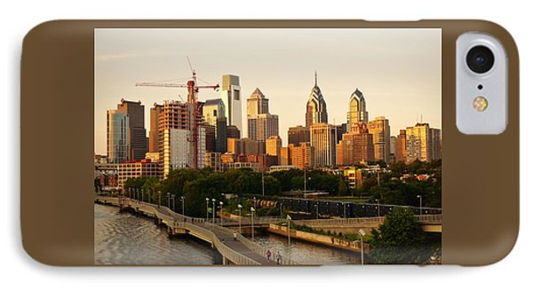 IPhone Case featuring the photograph Center City Philadelphia by Ed Sweeney