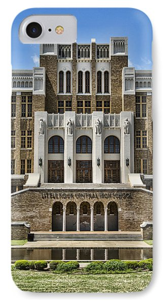 Central High School - Little Rock IPhone Case by Stephen Stookey