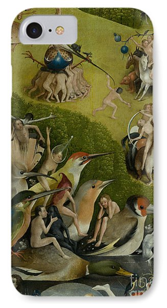 Central Panel From The Garden Of Earthly Delights IPhone Case by Hieronymus Bosch