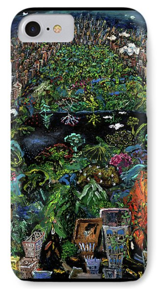 Central Park Phone Case by Antonio Ortiz