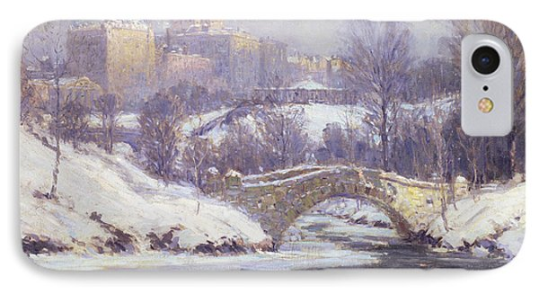 Central Park Phone Case by Colin Campbell Cooper