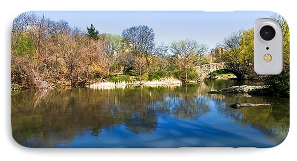 Central Park In New York City Phone Case by Svetlana Sewell