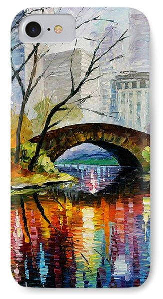 Central Park Phone Case by Leonid Afremov
