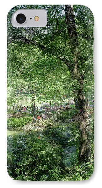 IPhone Case featuring the photograph Central Park Montage by Dave Beckerman