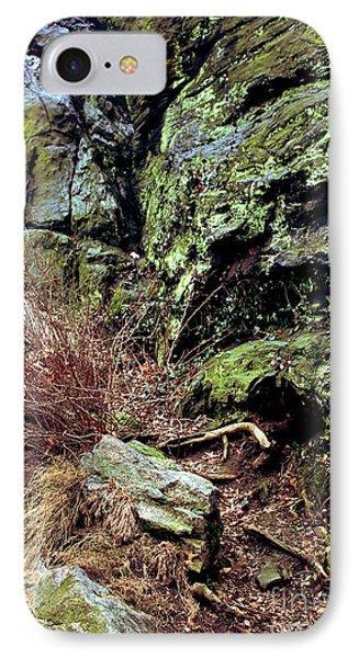 Central Park Rock Formation IPhone Case by Sandy Moulder