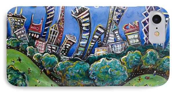 Central Park South Phone Case by Jason Gluskin