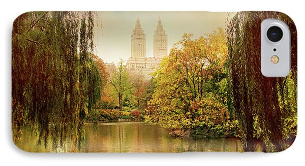 IPhone Case featuring the photograph Central Park Splendor by Jessica Jenney