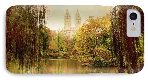 Central Park Splendor IPhone Case by Jessica Jenney