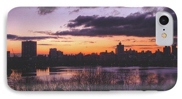 Central Park Sunrise Phone Case by Ariane Moshayedi