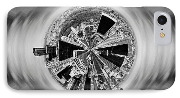 Central Park View Bw IPhone Case by Az Jackson