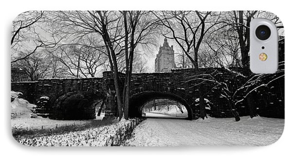 Central Park West And The San Remo Building  Phone Case by John Farnan