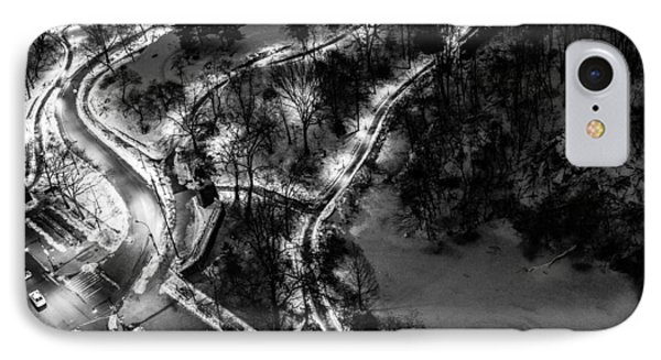 IPhone Case featuring the photograph Central Park Trails by M G Whittingham