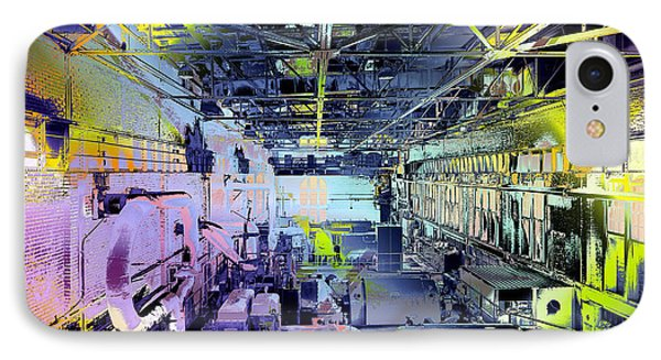 IPhone Case featuring the photograph Grunge Central Power Station by Robert G Kernodle