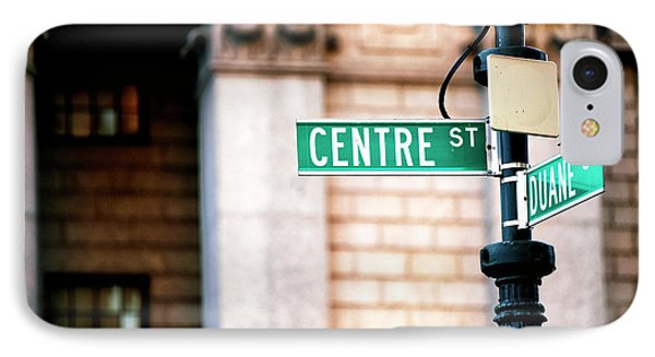 Centre Street IPhone Case by John Rizzuto