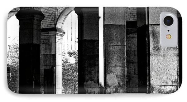 IPhone Case featuring the photograph Centre Street Shadows by John Rizzuto