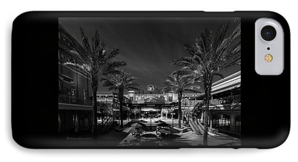 IPhone Case featuring the photograph Centro Ybor Bw by Marvin Spates