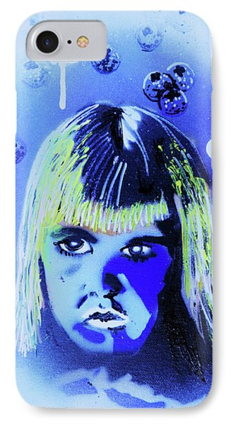 IPhone Case featuring the painting Cereal Killers - Boo Berry  by eVol i