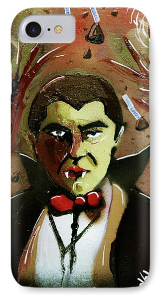 IPhone Case featuring the painting Cereal Killers - Count Chocula by eVol i