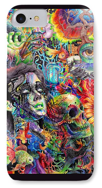 Cerebral Dysfunction Phone Case by Callie Fink