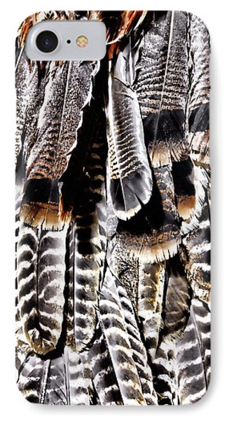 IPhone Case featuring the photograph Ceremonial Feathers by Ann Powell