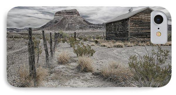 Cerro Castellan - Big Bend  IPhone Case by Kathy Adams Clark