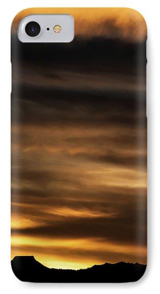 IPhone Case featuring the photograph Cerro Pedernal by Britt Runyon