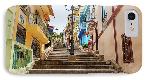 Cerro Santa Ana Guayaquil Ecuador IPhone Case