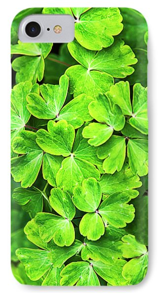 Certain Green Phone Case by Christina Rollo