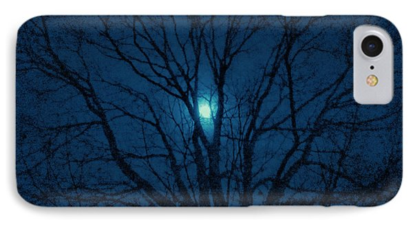 Cerulean Night IPhone Case by Denise Beverly