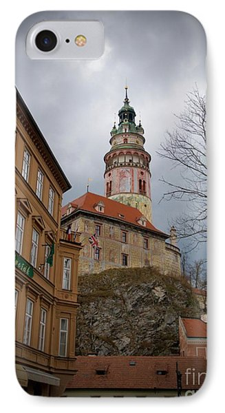 Cesky Krumlov II IPhone Case by Louise Fahy
