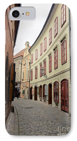 Cesky Krumlov IIi IPhone Case by Louise Fahy