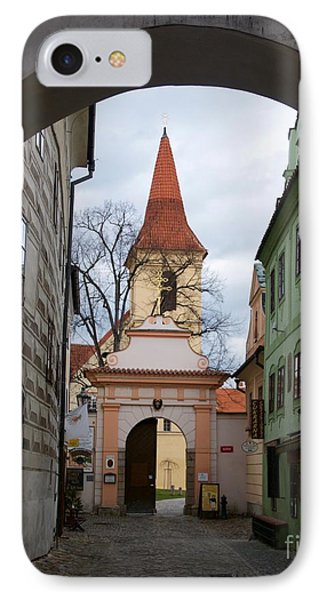Cesky Krumlov IPhone Case by Louise Fahy