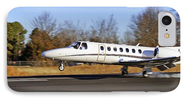 Cessna Citation Touchdown IPhone Case by Jason Politte