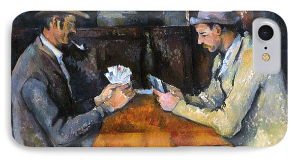 Cezanne: Card Player, C1892 Phone Case by Granger