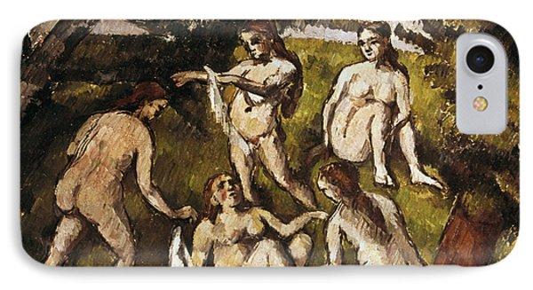 Cezanne: Five Bathers Phone Case by Granger