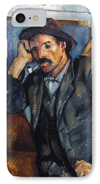Cezanne: Pipe Smoker, 1900 Phone Case by Granger